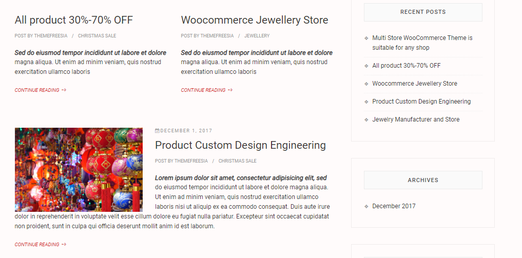 Christmas Template Store-Xmas online store for WordPress - 4