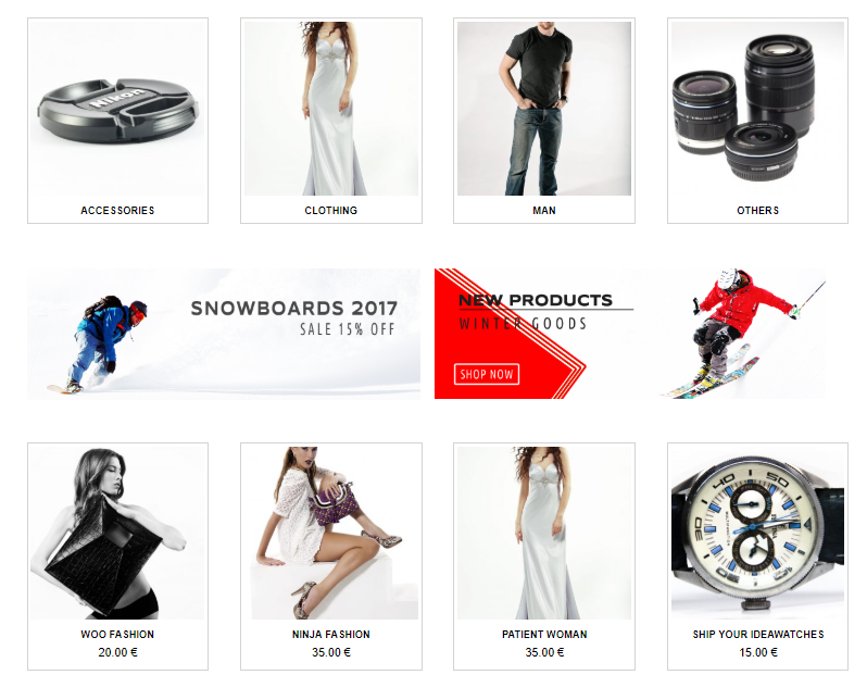 Universal template eCommerce Store for WordPress - 2