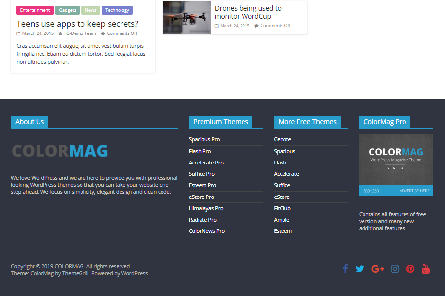 Free Colormag Media Template for WordPress - 3