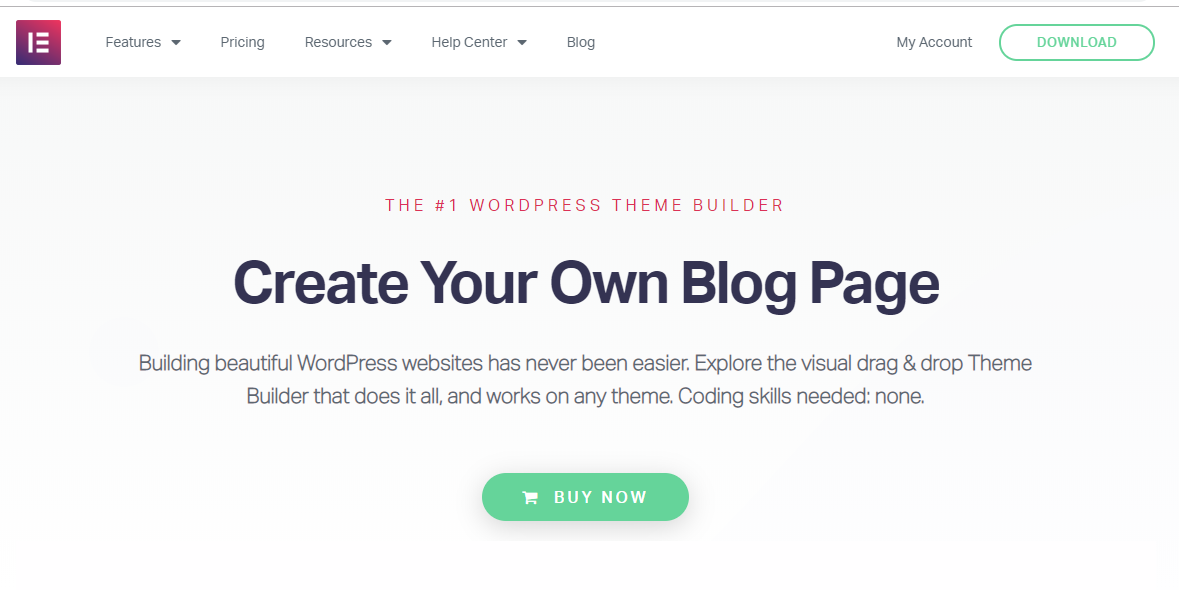 WordPress Elementor Online Template Builder