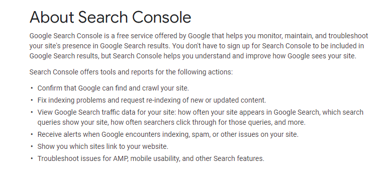 Why you should add your site to Google Search Console