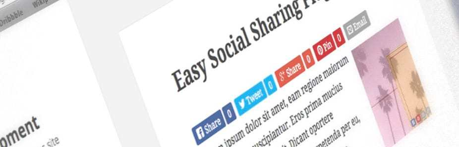 Easy Social Share Buttons Plugin for WordPress