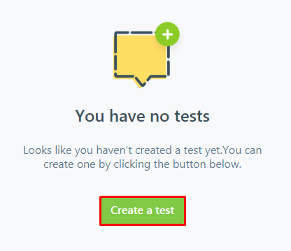 Create a usability test in Five Second Test