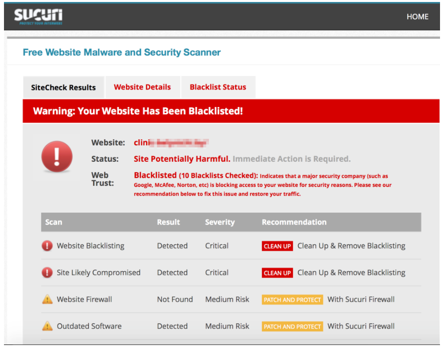 FREE Online Website Malware Scanner | Website Security