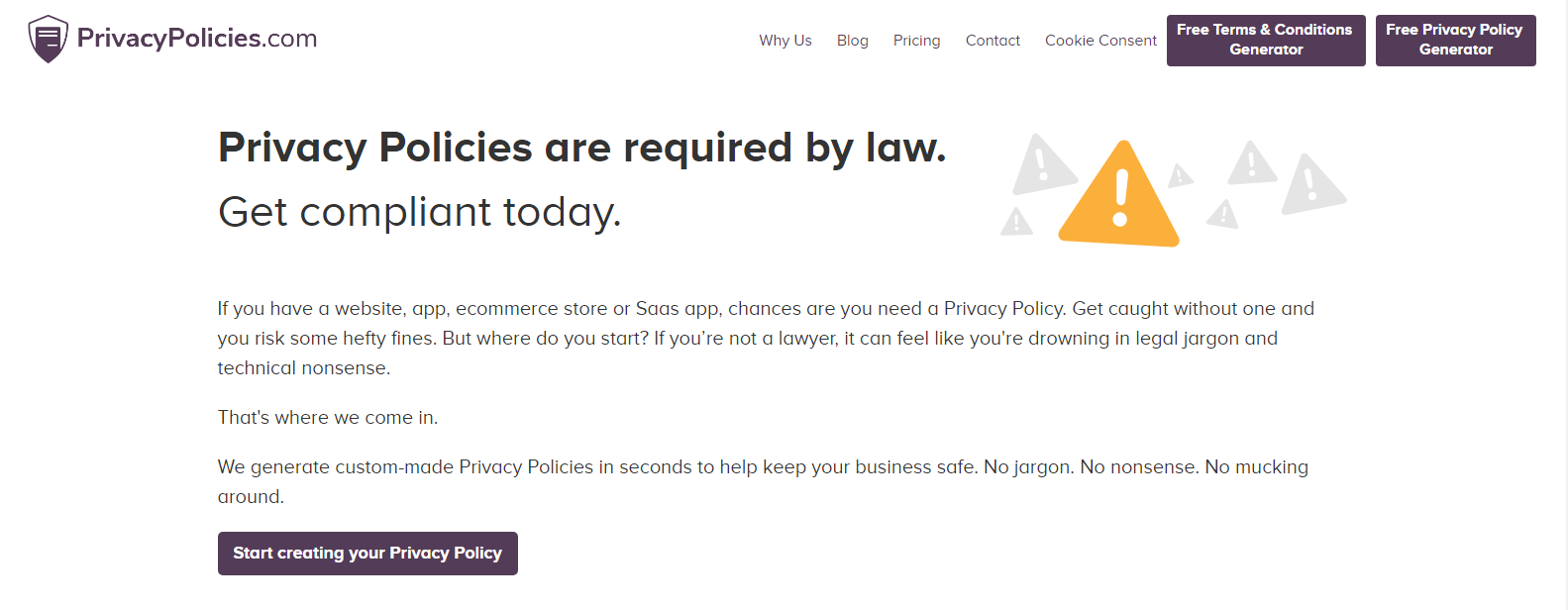 personal data processing policy created in app.privacypolicies.com