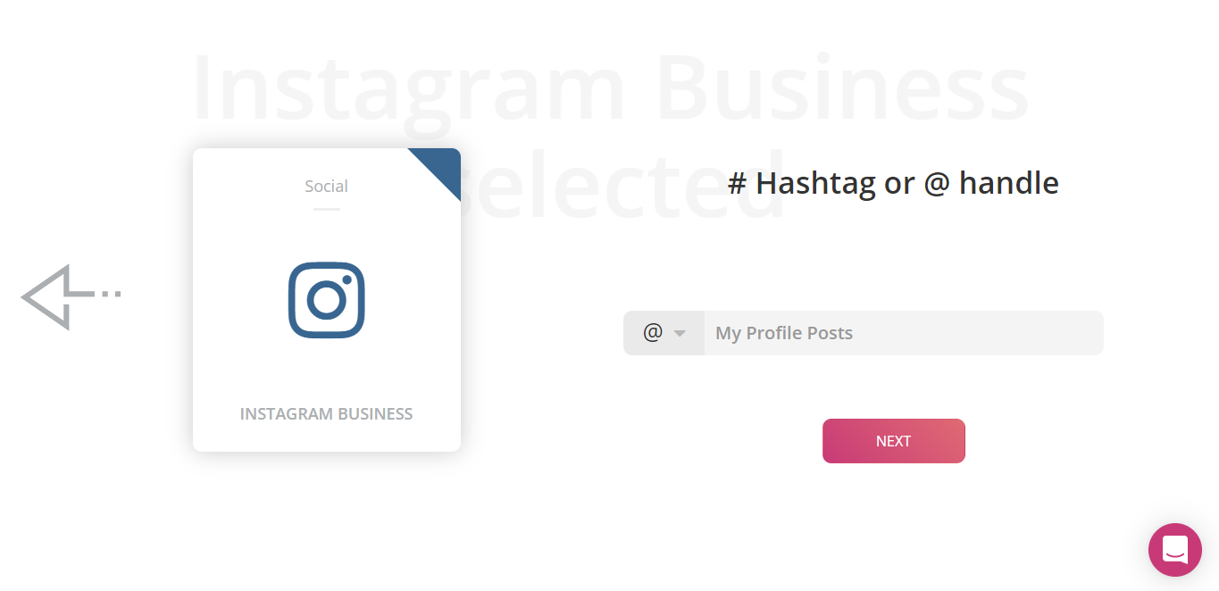 How to create Instagram widget for the site