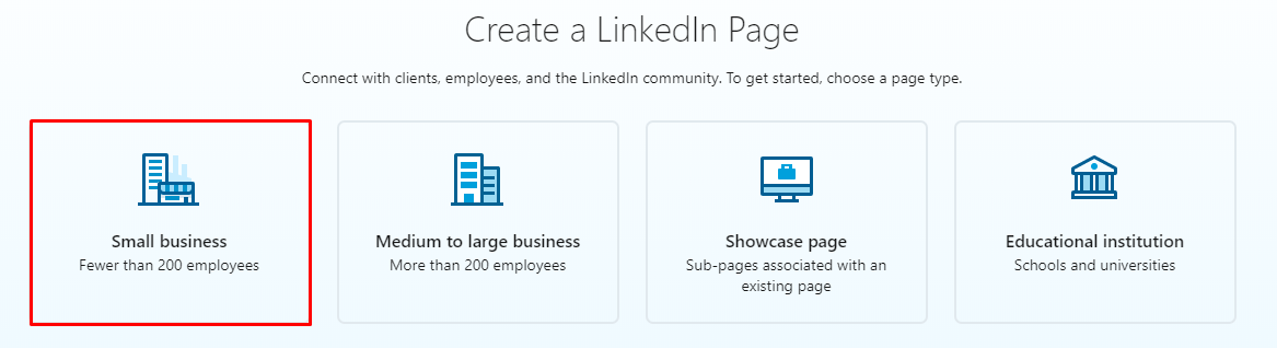 How to create a LinkedIn page for business