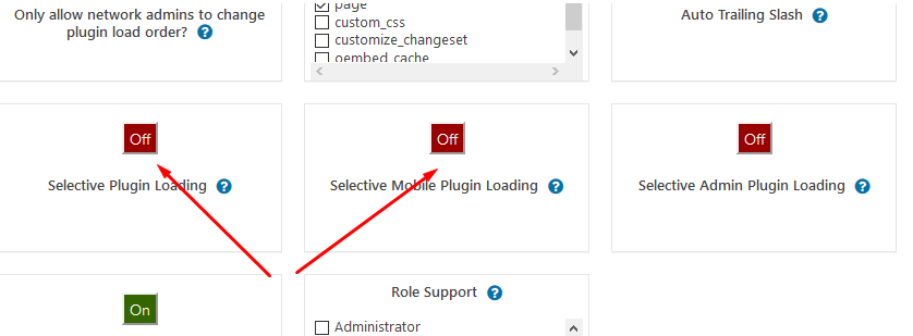 Configuring Plugin Organizer plugin for WordPress
