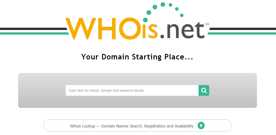 Whois domain checking for the search of affiliates