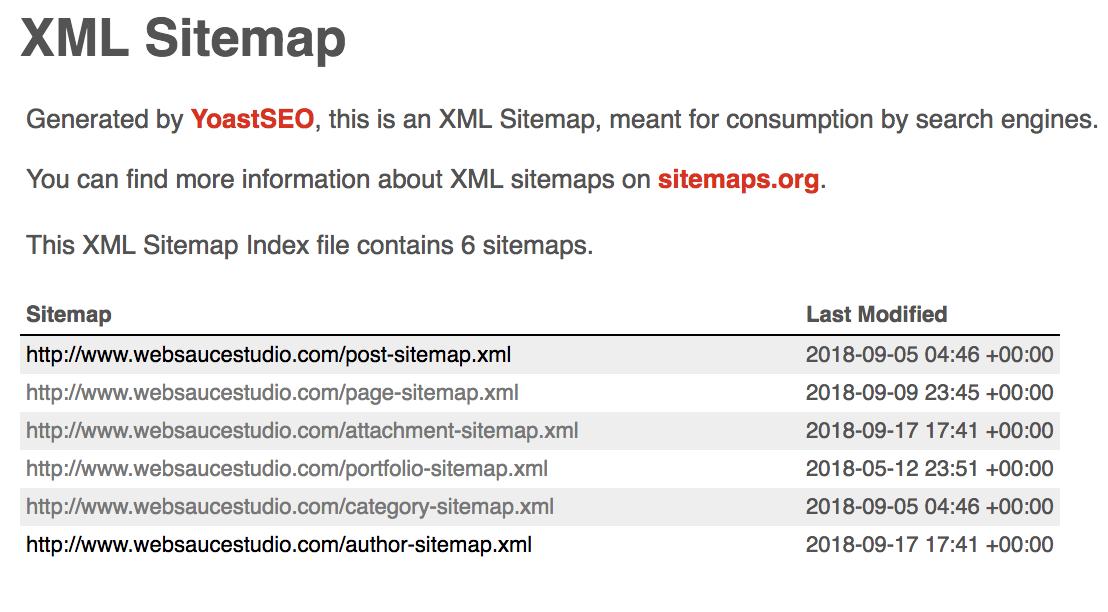 Auto-Generated XML File Example