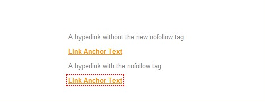 Nofollow links highlighting in Chrome