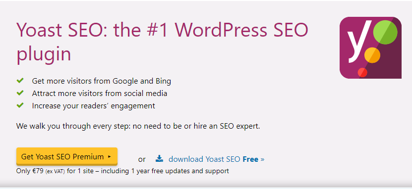 Плагин Yoast SEO для WordPress