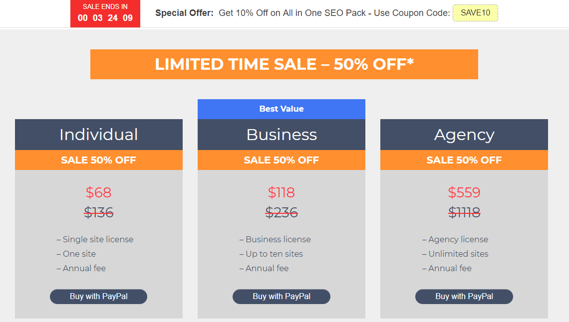 Плагин All in One SEO Pack для WordPress