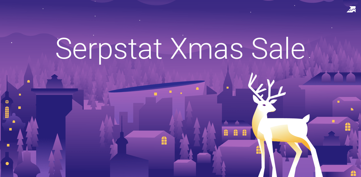 Serpstat Xmas Sale: Get Your Present!