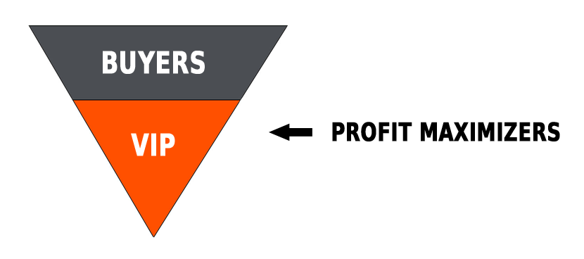 Profit maximizers in the sales funnel