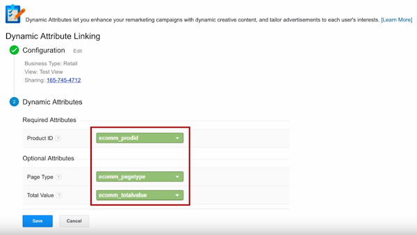 Google Analytics Dynamic Attributes
